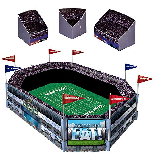- Sunny Anderson's Infladium: The Inflatable Snack Stadium, Drink Cooler, Football Party Supplies, by Amscan