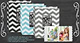 Pioneer Fabric Chevron Designer 100 Pocket Photo Album - holds 100 Photos up to 4 x 6 - Assorted Colors