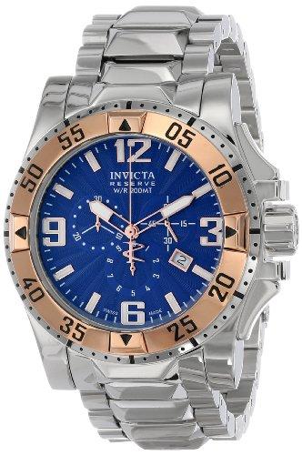 Invicta Men's 10889 Excursion Reserve Chronograph Blue Te...