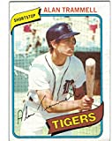 1980 Topps Detroit Tigers Team Set with Fidrych - Trammell & Whitaker - 28 Cards