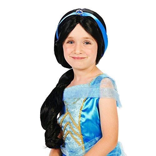 Arabian Princess Child Wig (Jasmine Costume Kids)