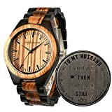 Wood Watches, shifenmei Natural Handmade Wooden...