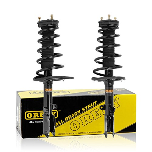 OREDY Rear Pair Complete Struts Shocks Coil Spring Assembly Kit Replacement for Toyota Camry 2007-2011 Avalon 2006-2012/Lexus ES350 2007-2012#172309 172310 15362 15361 SR4113 869227