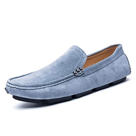 Xiazhi-shoes, Mocasines de Unidad para Hombre, Cuero Casual, Transpirable, Ligero