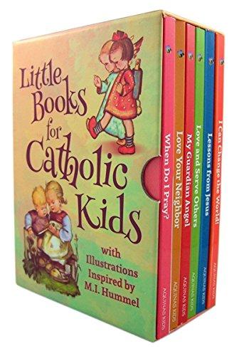 Aquinas Kids Little Books for Catholic Kids Box Set (Kids Religious Gifts)
