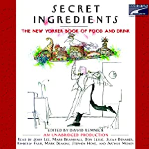 Secret Ingredients Audiobook
