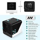 Air Cooler, Mini Portable Air Conditioner Fan