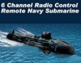 6 Channel Radio Control Remote Navy Submarine Radio Control Boat