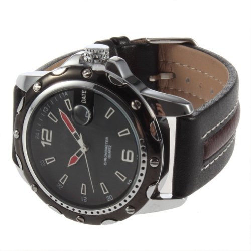 Deluxe CURREN Dial Clock Hours Hand Date leather Men Wrist Watch Water Resistant GN