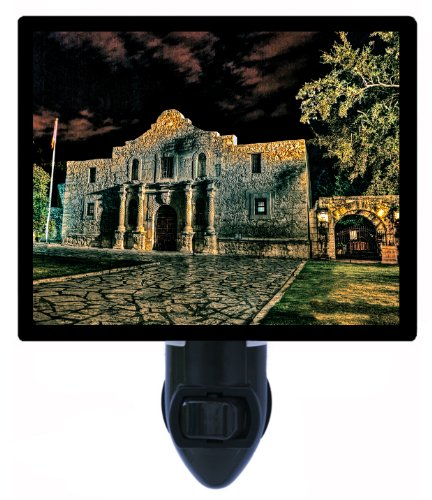 Night Light - The Alamo - San Antonio Texas LED NIGHT - In San Texas Outlets Antonio