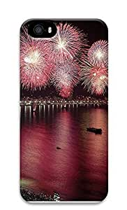 iPhone 5 5S Case Fireworks Exploding 3D Custom iPhone 5 5S Case Cover