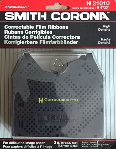 Smith Corona Correctible Film Ribbons 2 pack- H21010 (H67231)