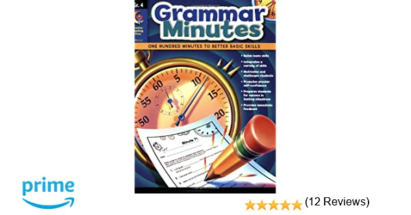 Grammar Minutes Gr. 4: Carmen S. Jones: 9781606891230: Amazon.com ...
