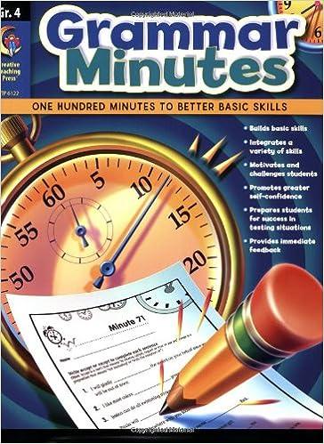 Grammar Minutes Gr. 4: Carmen S. Jones: 9781606891230: Amazon.com ...