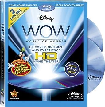 Amazon com: Disney WOW: World of Wonder [Blu-ray]: Eryca