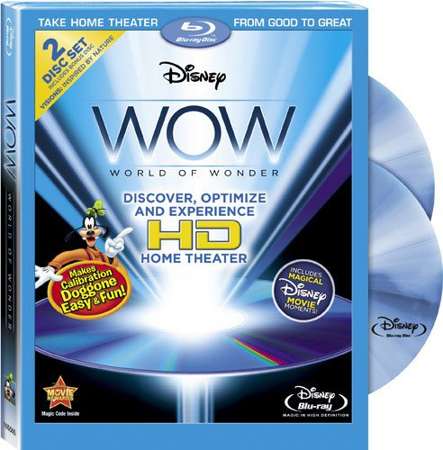 Disney WOW: World of Wonder [Blu-ray] by Buena Vista Home Video