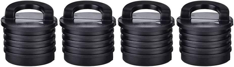 4Pcs durable rubber kayak marine boat scupper stopper drain holes plugs hot CL