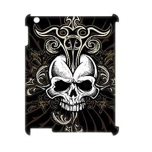 C-EUR Skull Pattern 3D Case for iPad 2,3,4