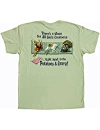 Men's God's Creatures Next to Potatoes and Gravy T-Shirt