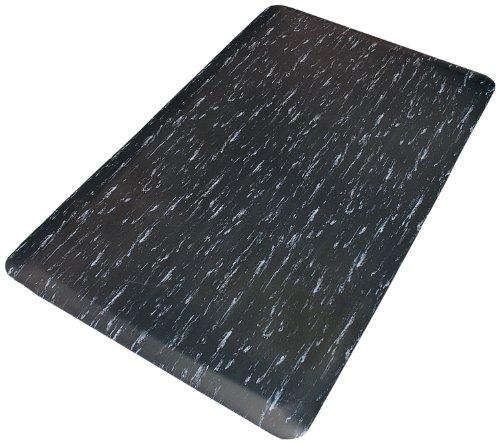 Tile Top Anti Fatigue Mat - Rhino Mats TT-2436BW Marbleized Tile Top Anti-Fatigue Mat, 2' Width x 3' Length x 1/2