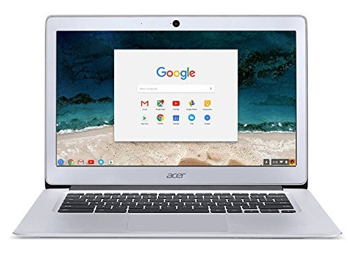 2018 Acer 14'' FHD IPS Display Premium Flagship Business Chromebook-Intel Celeron Quad-Core Processor Up to 2.24Ghz, 4GB RAM, 32GB SSD, HDMI, WiFi, Bluetooth Chrome OS-(Certified Refurbished) by Acer-Business-Chromebook
