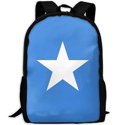 high-quality Kuswaq Flag Of Somalia Unisex Novelty Fashion Backpack College School Hiking Gym Bag Backpack
