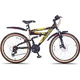 Hero Octane Sioux 26T 21 Speed Mountain Bike (Black)