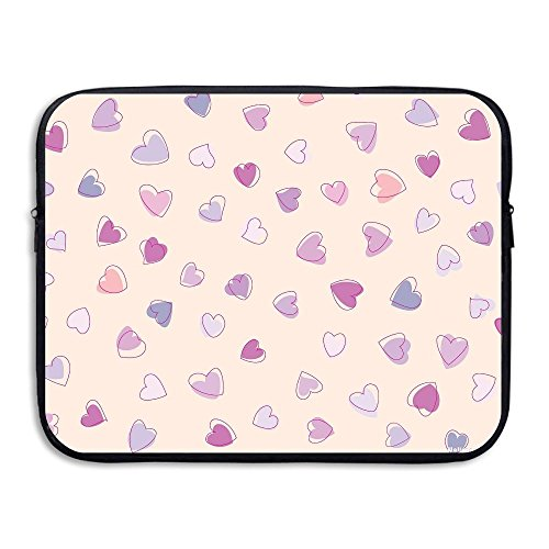 Ministoeb Heart Love Clipart Arts Laptop Storage Bag - Portable Waterproof Laptop Case Briefcase Sleeve Bags Cover by Ministoeb (Image #4)
