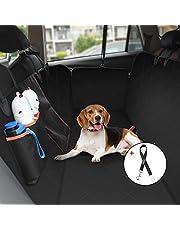 Hundeschutzdecke, OMORC Wasserdichte Kofferraumschutz mit freiem Geschenk,  Kofferraumdecke mit Atmungsaktive Mesh-Sichtfenster und Aufbewahrungstaschen