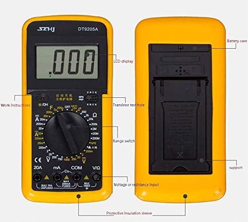 CHUNSHENN Digital Multimeter, High-Precision LCD Home Desktop Handheld Portable Multimeter Digital Multimeter