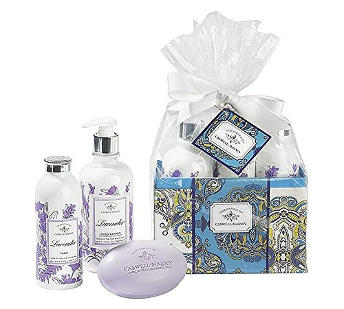 Caswell-Massey Boxed Gift Set, Lavender, 2.5 Ounce