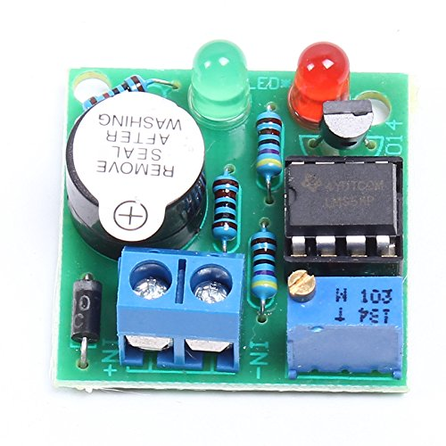 icstation-lm358-12v-car-lead-acid-battery-low-voltage-protector-alarm-over-discharge-protection-module-with-buzzer-indicator