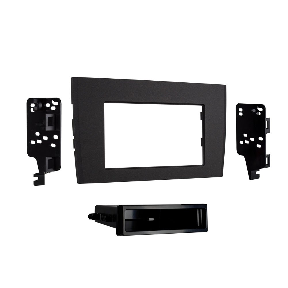 Metra 99 9228b Single Double Din Dash Kit For 2003 Stereo Wiring Harness 2014 Volvo Xc90 Black Car Electronics