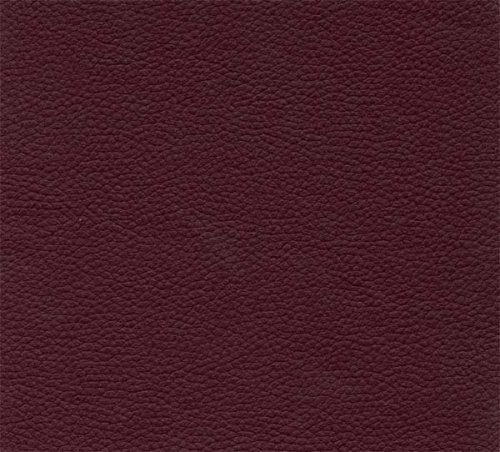 Burgundy Leather Look Vinyl Full Size Futon Cover Covers
