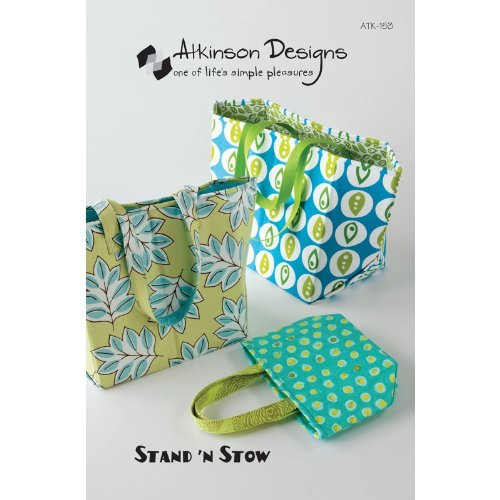 Atkinson Designs Atk 153 Stand N Stow Pattern by Atkinson Designs