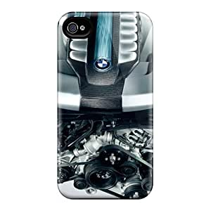 Defender Case With Nice Appearance (bmw 7 Series Hydrogen Engine) For Iphone 4/4s
