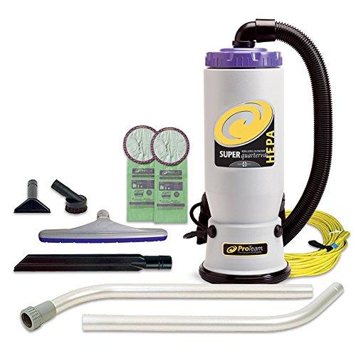 bagless backpack vacuum cleaner - 7