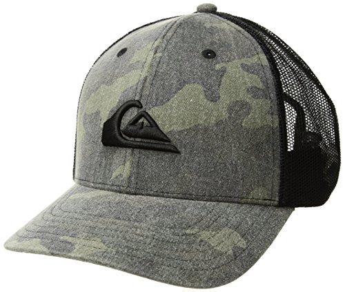 (Quiksilver Men's Grounder Trucker HAT, camo, 1SZ)
