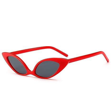 Yangjing-hl Gafas de Sol Ojo de Gato Tendencia Gafas de Sol ...