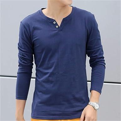 Flying Lisa Camisetas de Lino de otoño para Hombre Camiseta de ...