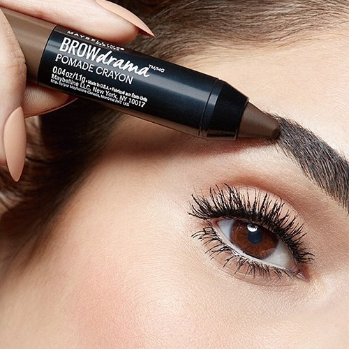 d552e94637c Buy Maybelline New York Fashion Brow Pomade, Deep Brown, 1.5g Online at Low  Prices in India - Amazon.in