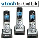 Vtech DS6101 DECT 6.0 2-line CID Speaker Handset 3-pack, Office Central