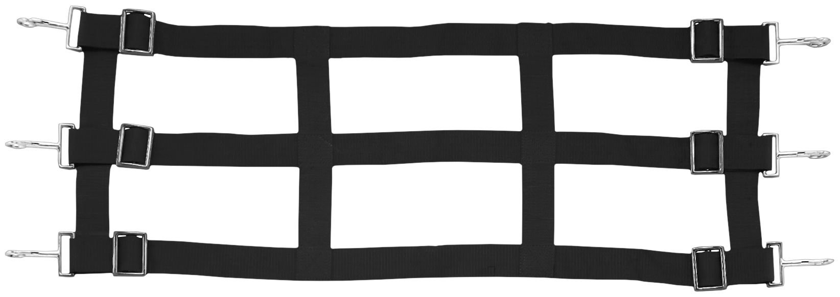 Tough 1 Nylon Stall Guard, Black by Tough 1