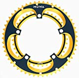 MOWA Road Bike Bicycle 130BCD 53-39T Double Chainring Set for 9 10 Speed Gold
