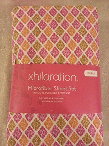 Xhilaration Warm Sheet Set Multicolor - FULL