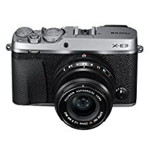 Fujifilm X-E3 Mirrorless Digital Camera with XF 23mm f/2 R WR Lens Kit - Silver