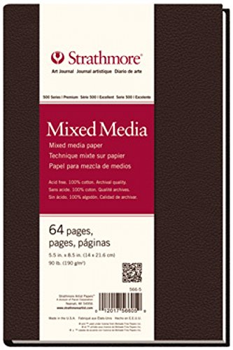 Strathmore Mixed Media Art Journal 5, 5X8.5-64 pagine 5X8.5-64 pagine 566-5