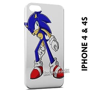 Carcasa Funda iPhone 4/4S Sonic Protectora Case Cover
