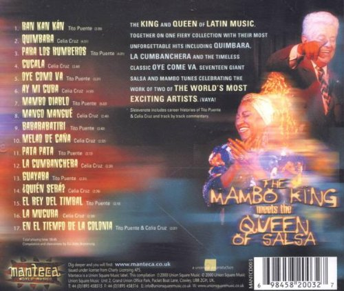 Mambo King Meets the Queen of Salsa by Import [Generic]