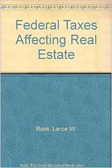 Descargar El Autor Mejortorrent Federal Taxes Affecting Real Estate Torrent PDF